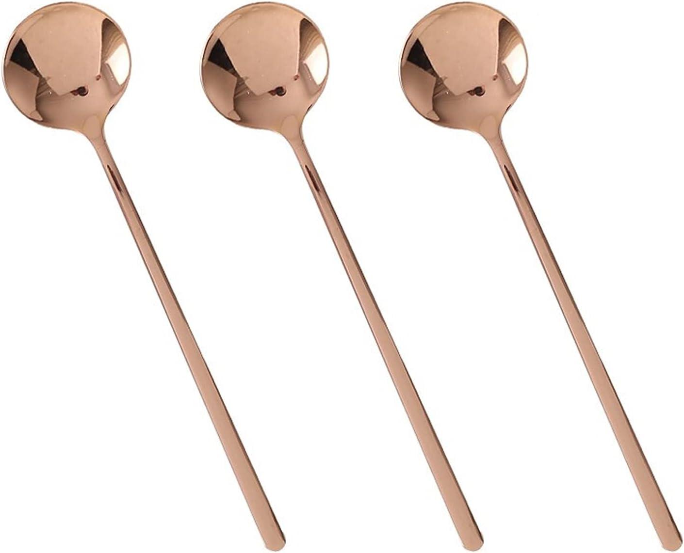 Cooking spoon Under blast sales Stainless Ranking TOP11 Steel Coffee Spoon Creati Spoons Dessert