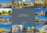 Zittau Impressionen (Wandkalender 2022 DIN A4 quer): Die Stadt im Dreilaendereck (Monatskalender, 14 Seiten )