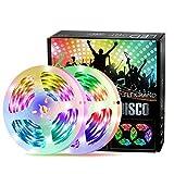 Nicetai - Tira LED de 10 m con luz inteligente, multicolor (controlado por la...