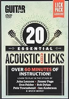 acoustic rock licks