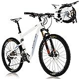 CHANGE 26 Inch Compact Full Size Mountain Folding Bike Shimano XT 2x11 speeds DF-602WF (17 inch)