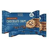 ChocZero's Milk Chocolate Chips - No Sugar Added, Low Carb, Keto Friendly, Gluten Free - For Baking Keto Diet Snacks (7oz 2-Pack)