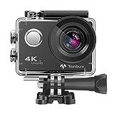 4K Action Kamera WiFi 170°Weitwinkel Helmkamera Unterwasserkamera -VON Tonbux- 4K HD /...