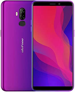 Phones Power 3L, 2GB+16GB, Dual Back Cameras, Face ID & Fingerprint Identification, 6350mAh Battery, 6.0 inch Android 8.1 ...