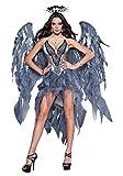 InCharacter Costumes Women's Dark Angel's Desire Costume, Grey/Silver, Medium