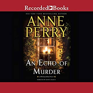An Echo of Murder audiobook cover art