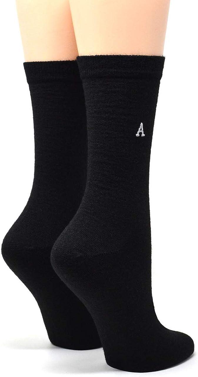 Warrior Alpaca Socks - Women's Alpaca Wool Trouser Socks - Lightweight, Hosery Style Socks with Moisture & Odor Control