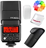 Best Godox Ttl Flashes - Godox TT350F 2.4G HSS 1/8000s TTL GN36 Camera Review