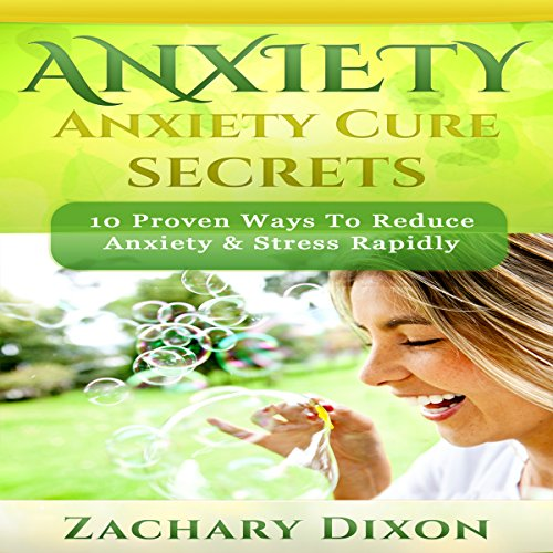 Anxiety Cure Secrets audiobook cover art