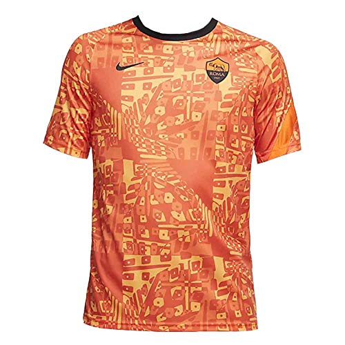 Nike 2020-2021 Roma Pre-Match - Camiseta de entrenamiento (naranja)