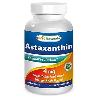 Best Naturals Astaxanthin 10 mg 60 Softgels