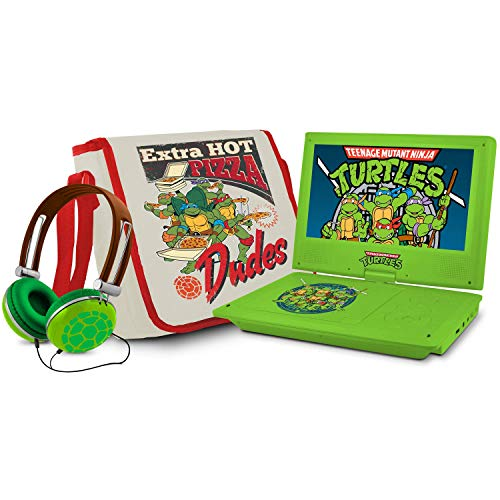 Buy Bargain Tilts and Swivels Teenage Mutant Ninja Turtles 7 Portable DVD Player-Provide Optimal Vi...