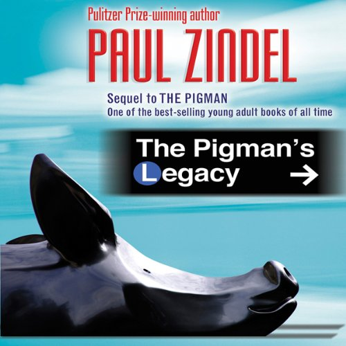 The Pigman's Legacy audiobook cover art