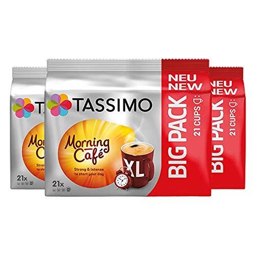 Tassimo Morning Café XL, Kaffee Kapseln, 3er Pack (3 x 163.8 g)