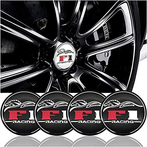 WOZUIMEI 1 Satz Auto Rad Zentrale Radkappe Nabenrad Zentrale Radkappe Abzeichen Logo für Nissan Ford Mazda Suzuki...