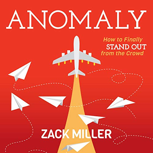 Anomaly Audiobook By Zack Miller cover art