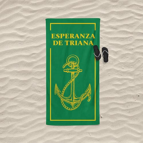 Toalla de la Esperanza de Triana Hermandad Semana Santa Sevilla 160x80 cm 450 gr