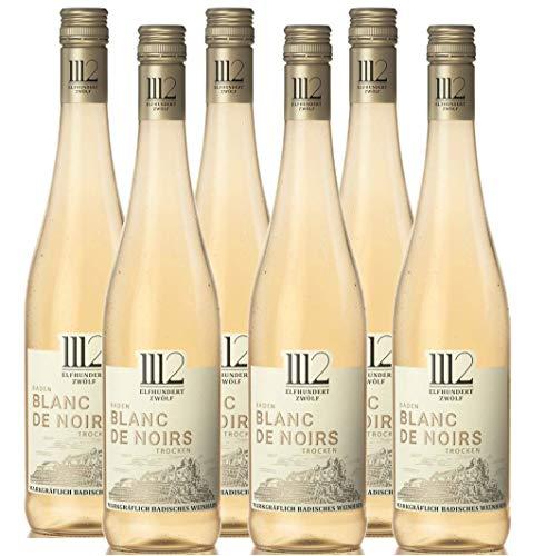 1112 Blanc de Noirs Trocken – Weißwein der Marke Elfhundertzwölf (6 x 0,75l)