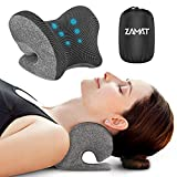 ZAMAT Neck and Shoulder Relaxer with Magnetic Therapy Pillowcase, Neck Stretcher Chiropractic Pillows for Pain Relief, Cervical Traction Device for Relieve TMJ Headache Muscle Tension Spine Alignment