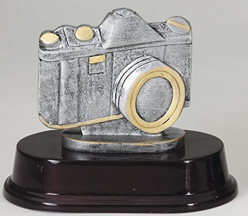 Personalized Camera Resin Trophy