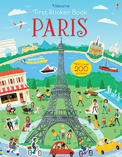 Maclaine, J: First Sticker Book Paris (First Sticker Books)