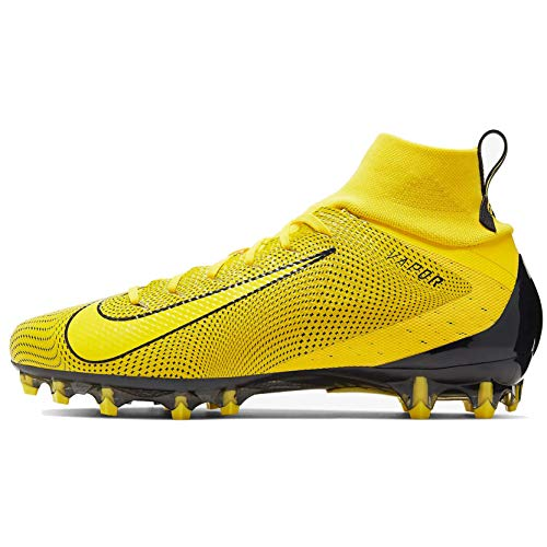 Nike Mens Vapor Untouchable 3 Pro Football Cleats (10.5, Yellow/Black)