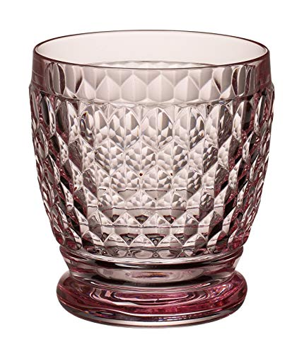Villeroy & Boch Boston Coloured Verre, 330 ml, Cristal, Transparent/Rose
