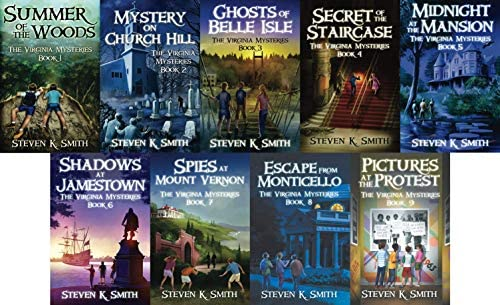 Virginia Mysteries Series Complete Set Book 1 9 product image
