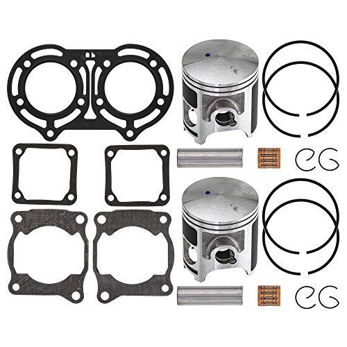 NICHE 64mm Piston Gasket Ring Top End Kit for Yamaha Banshee 350 2GU-11181-00-00 3GG-11351-02-00 93450-17129-00