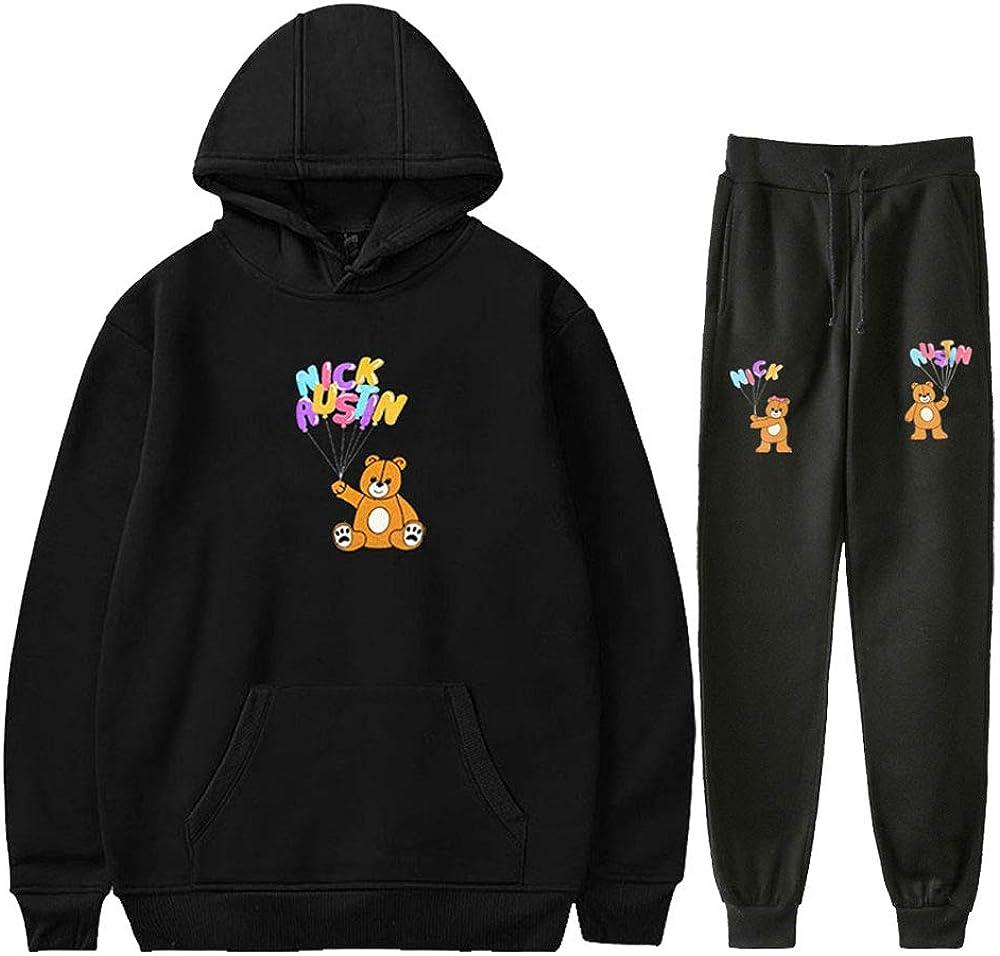WAWNI Nick Cheap Austin Puff Teddy Bear Hood hossler Over item handling ☆ Jaden Set Hoodies