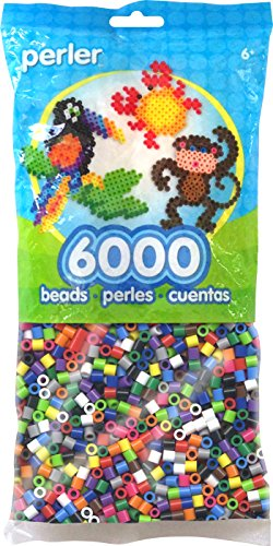 Perler Beads Fuse Beads for Crafts, 6000pcs, Classic Mix