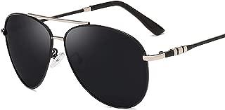 Pilot Polarized Sunglasses Oversized Alloy Frame Lens Retro Vintage Women Driving