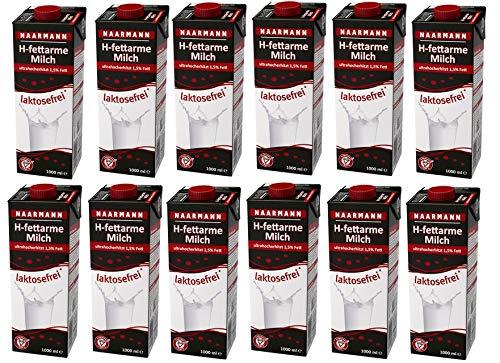 12x 1l Naarmann H-Milch 1.5% laktosefrei Ein-Dreh-Verschluss