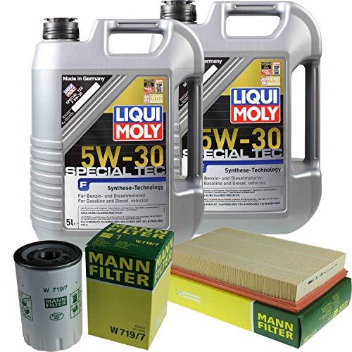 Liqui Moly Special Tec F 5W-30 - Juego de filtros de aceite (10 L)