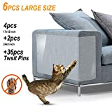 Protector Sofa Gatos - 6pack X-Large Protectores Muebles para Gatos - Pet Couch...
