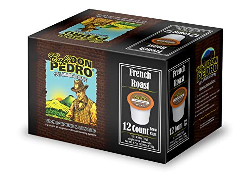 Cafe Don Pedro - 72 ct. French Roast Arabica Low Acid Coffee Pods