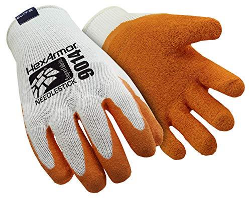 HexArmor Sharpmaster 9014 Stichschutz-Handschuhe mit hohem Schnittschutz, Größe: 7