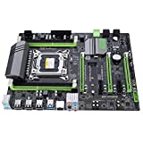 Computer Motherboard Mainboard,2011PIN Upgraded Chipset for Intel H61 4 DDR3 RAM ,Gigabit Network Card - Front and Rear Dual USB3.0 PC Computer Motherboard