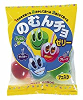 東豊製菓 のむんちょゼリー (90g×7個入り)×12袋