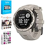Garmin Instinct Rugged Outdoor Watch with GPS, and Heart Rate Monitoring - Tundra (010-02064-01) with Tech Smart USA Fitness & Wellness Suite Includes Altair Weyv, Yoga Vibes and Daily Burn