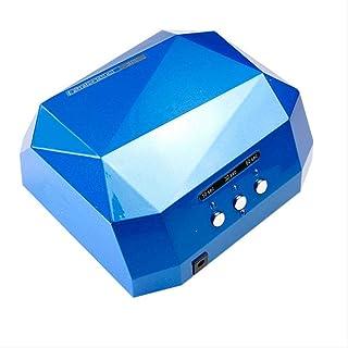 Secador de uñas 36w Lámpara De Curado De Esmalte De Gel Led Ccfl Uv Secador De Uñas Máquina De Lámpara De Curado De Forma De Diamante Para Esmalte De Uñas De Gel Ultravioleta