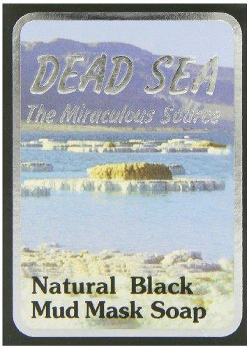 J Malki Masque de boue noir naturel de la mer Morte 90 g