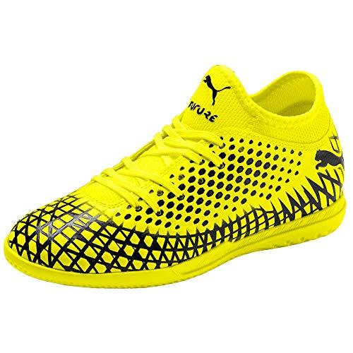 PUMA Kids Boys Future 4.4 It Jr Soccer Cleats - Yellow -...
