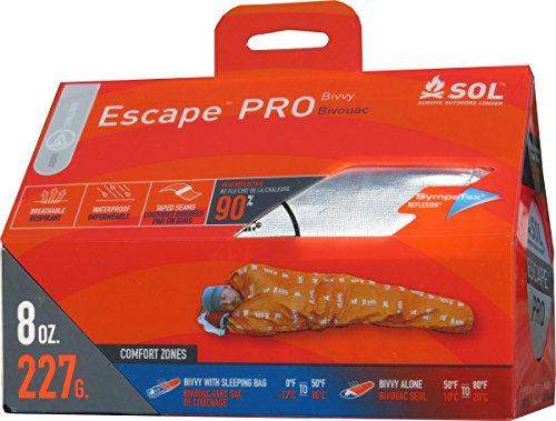 SOL BIVY Bivouac Escape Pro Mixte Adulte, Orange