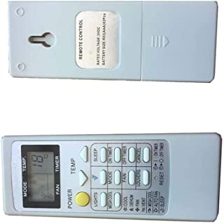 4EVER Replacement Remote Control Substitute for Sharp CRMC-A705JBEZ AY-A12CJ AY-AP09DJ CV-P10RC AC Air Conditioner