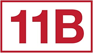 11B Infantry Die Cut Window Sticker for U.S. Army MOS Eleven Bravo Veterans. 3