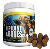 DR DOG Dogs Joint Supplement Hip & Joint – Bacon Flavoured Joint Chews for Dogs – Chondroitin and...