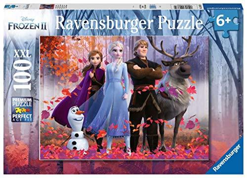 Ravensburger- Puzzle 100 pièces XXL La Reine des Neiges 2 Disney Enfant, 4005556128679