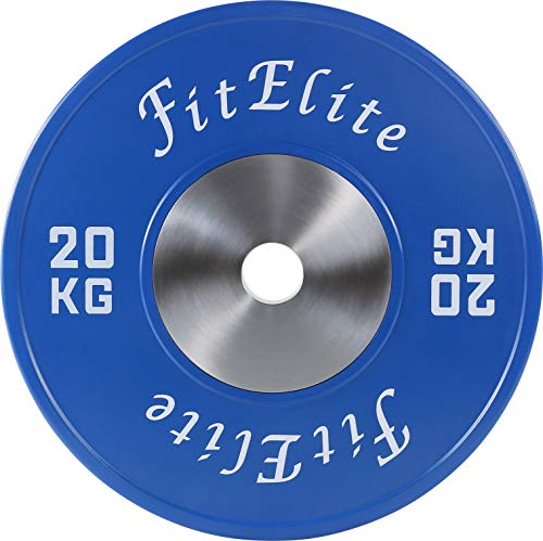 FitElite(フィットエリート)バンパープレート 2枚1組 (20KG)