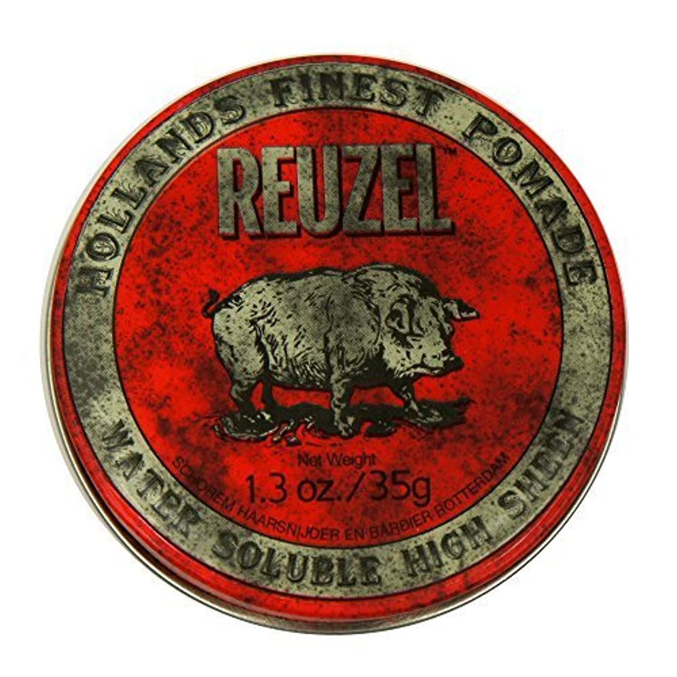 地獄スコアウルルReuzel Red Hair Pomade Piglet 1.3oz [並行輸入品]